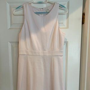Elegant, pale pink, J Crew cocktail dress